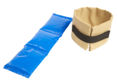 Tan Deluxe Neck Cooler with Thermo-flex